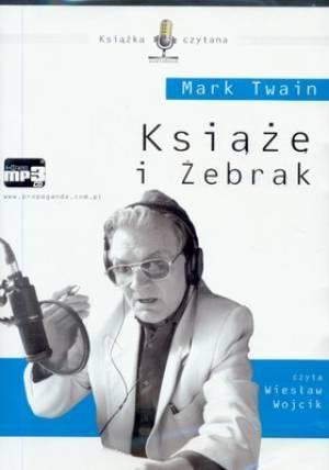 Książe i żebrak (CD mp3) - pudełko audiobooku