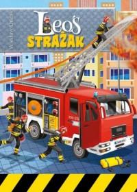 Leoś Strażak - okładka książki