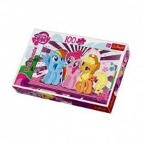My little Pony. Przyjaciółki (puzzle 100-elem.) - zdjęcie zabawki, gry