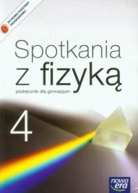 Spotkania z fizyką 4. Gimnazjum. - okładka podręcznika
