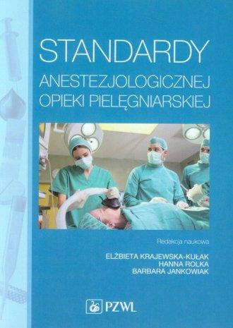 Standardy anestezjologicznej opieki - okładka książki