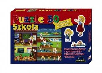 Szkoła (puzzle 50-elem.) - zdjęcie zabawki, gry