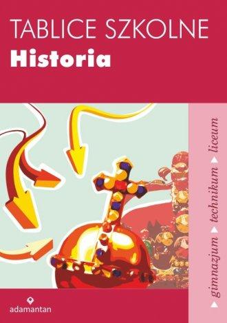 Tablice szkolne. Historia - okładka podręcznika