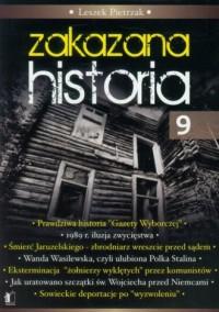 Zakazana historia 9 - okładka książki