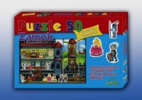 Zamek (puzzle 50-elem.) - zdjęcie zabawki, gry