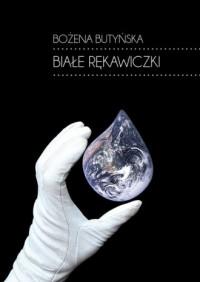 Białe rękawiczki - okładka książki