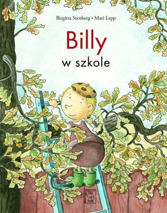 Billy w szkole - okładka książki