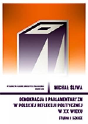 Demokracja i parlamentaryzm w polskiej - okładka książki