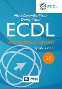 ECDL S7. Współpraca Online - okładka książki