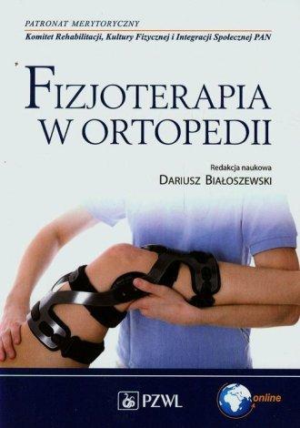Fizjoterapia w ortopedii - okładka książki