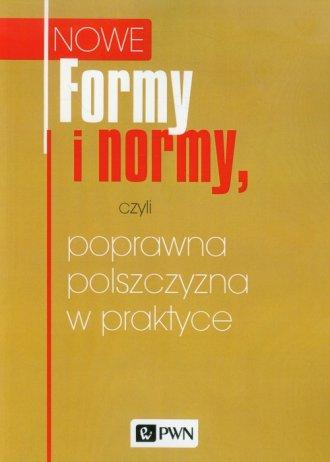 Formy i normy, czyli poprawna polszczyzna - okładka książki