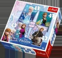Frozen (puzzle 4 w 1) - zdjęcie zabawki, gry