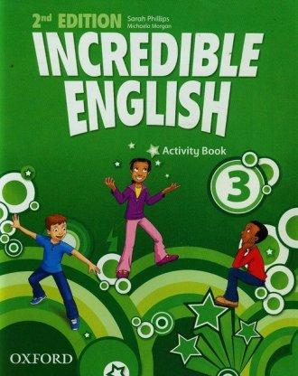 Incredible English 3. Activity - okładka podręcznika