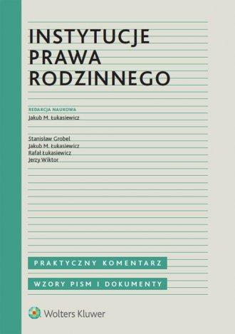 Instytucje prawa rodzinnego - okładka książki