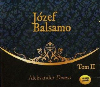 Józef Balsamo. Tom 2 - pudełko audiobooku