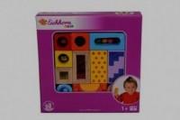Klocki kolorowe z dźwiękiem - zdjęcie zabawki, gry