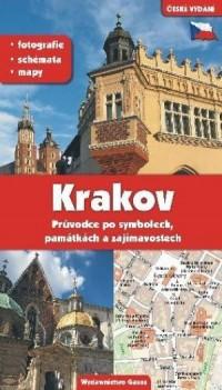 Kraków. Przewodnik po symbolach - okładka książki
