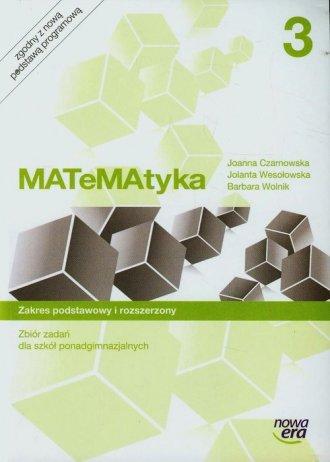 Matematyka 3. Szkoła ponadgimnazjalna. - okładka podręcznika