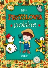 Przysłowia polskie - okładka książki