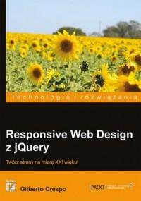 Responsive Web Design z jQuery - okładka książki