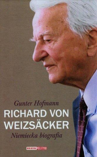 Richard von Weizsacker. Niemiecka - okładka książki