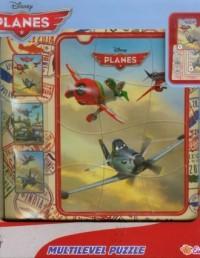 Samoloty (puzzle drewniane 28-elem.) - zdjęcie zabawki, gry