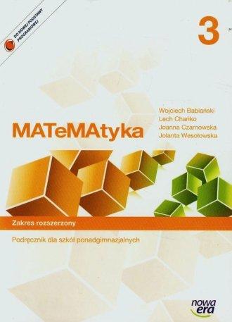 Teraz matura 3. Matematyka. Szkoła - okładka podręcznika