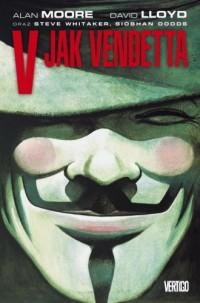 V jak Vendetta - okładka książki