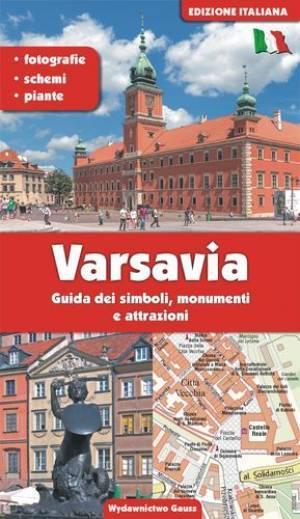 Warszawa. Przewodnik po symbolach - okładka książki