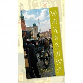 Warszawa. Przewodnik (wersja angielska) - okładka książki