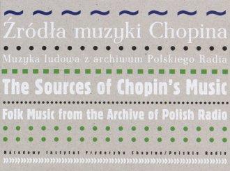 Źródła muzyki Chopina. Muzyka ludowa - okładka książki