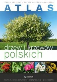 Atlas drzew i krzewów polskich - okładka książki
