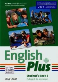 English Plus 3A. Gimnazjum. Podręcznik - okładka podręcznika