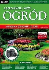 Garden Composer 3D (DVD) wersja 3.3 PL. Zaprojektuj swój ogród - pudełko programu