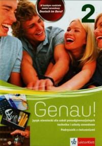 Genau! 2. Szkoła ponadgimnazjalna. Podręcznik z ćwiczeniami (+ CD) - okładka podręcznika