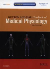 Guyton and Hall. Textbook of Medical Physiology - okładka książki