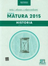 Historia. Nowa Matura 2015. Testy - okładka podręcznika