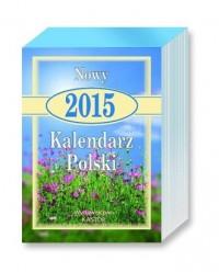 Kalendarz 2015. Nowy kalendarz Polski - okładka książki