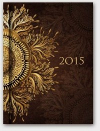 Kalendarz 2015. Soft Ornament dzienny A5 - okładka książki