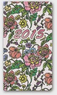 Kalendarz 2015. Soft Secesja A6 - okładka książki