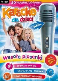Karaoke dla dzieci. Wesołe piosenki (z mikrofonem) - pudełko programu