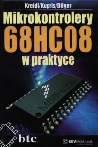 Mikrokontrolery 68HC08 w praktyce - okładka książki