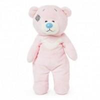 Miś różowy (niebieski nosek 25 cm) - zdjęcie zabawki, gry