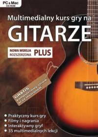 Multimedialny kurs gry na gitarze. - pudełko programu