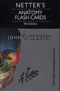 Netlers Anatomy Flash Cards - okładka książki