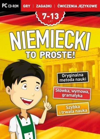 Niemiecki To Proste! Gry, zagadki - pudełko programu