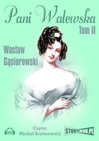 Pani Walewska. Czyta: Michał Breitenwald - pudełko audiobooku