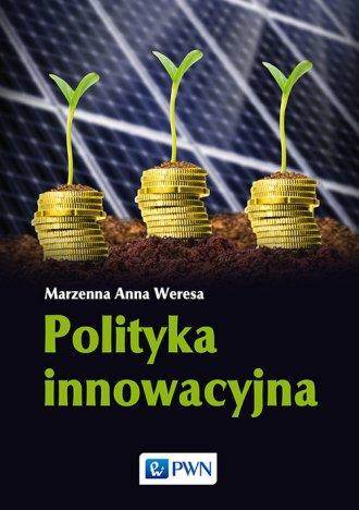 Polityka innowacyjna - okładka książki