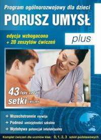 Porusz umysł Plus. Program ogólnorozwojowy - okładka płyty