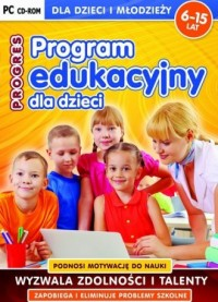 Program edukacyjny dla dzieci Progres - pudełko programu